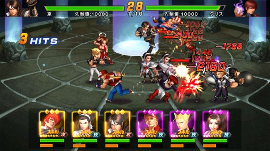 THE KING OF FIGHTERS '98UM OLのドット絵戦闘バトル
