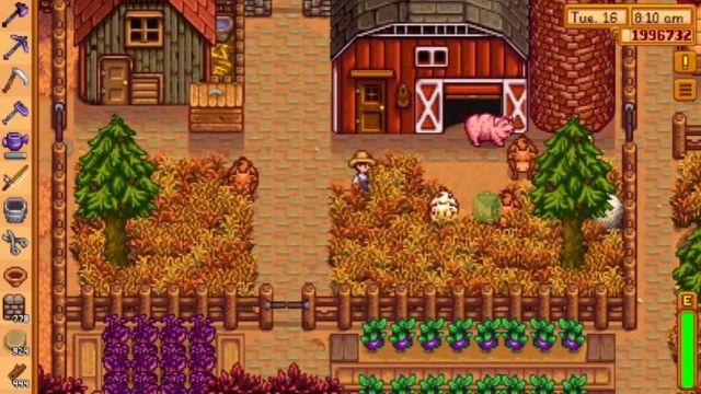 買い切りスマホゲーム「Stardew Valley」の画像
