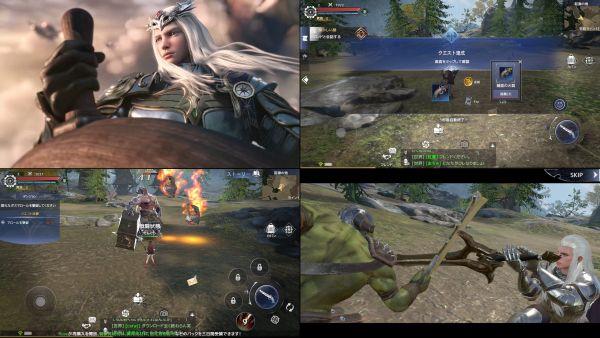 MMORPGフォーセイクンワールドのゲーム画像