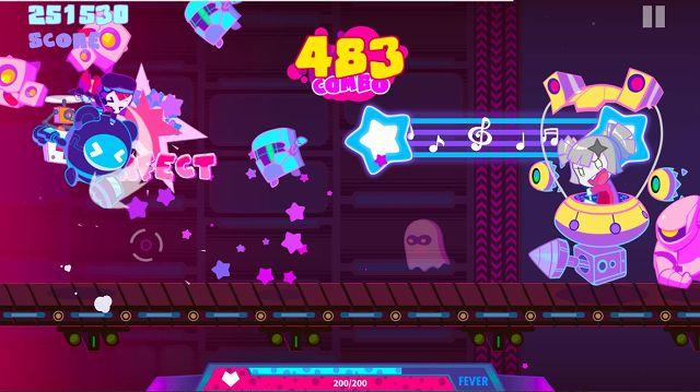 Muse Dashのゲームアプリ画像