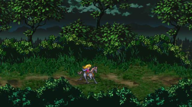 Romancing SaGa 3 Remasterのキャラオープニング