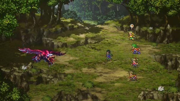 Romancing SaGa 3 Remasterの戦闘画面