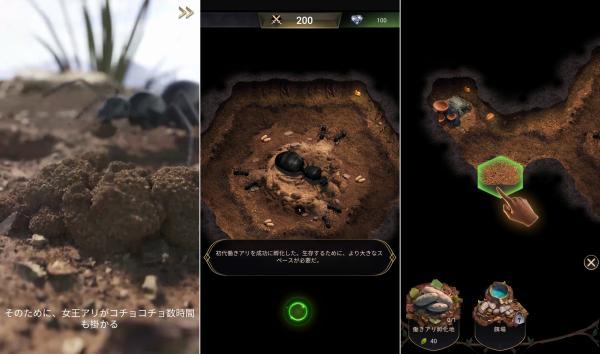 ザ・アンツの戦争ゲームアプリ画像