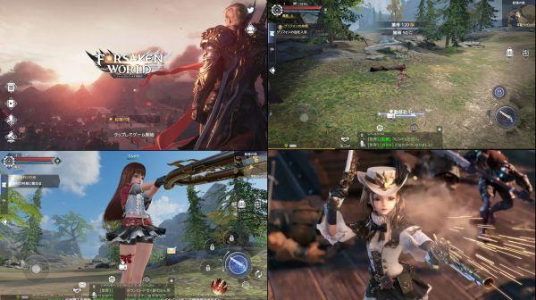 爽快アクションゲーム・フォーセイクンワールドのアプリ画像